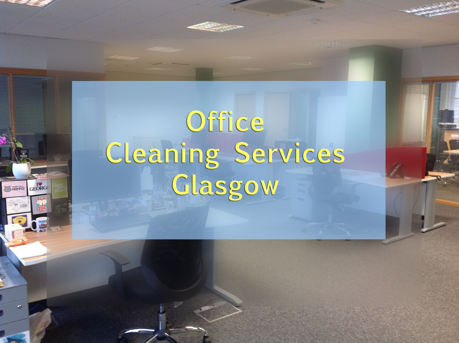 Office Cleaners Glasgow